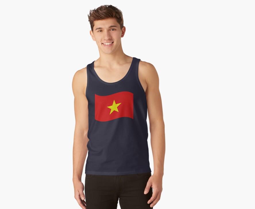 Vietnam Flag Wave by iloveisaan