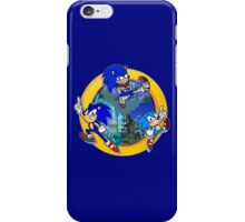 3 Shades of Sonic iPhone Case/Skin