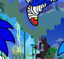 3 Shades of Sonic Sticker