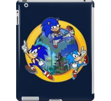 3 Shades of Sonic iPad Case/Skin