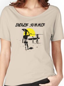 ENDLESS SUMMER SURF MOVIE Women's Relaxed Fit T-Shirt