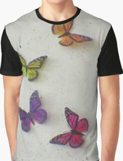 Oh to be a Butterfly Graphic T-Shirt