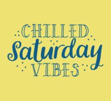 Chilled Saturday vibes Baby Tee