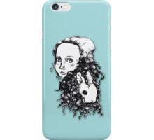 Alice & the Rabbit iPhone Case/Skin
