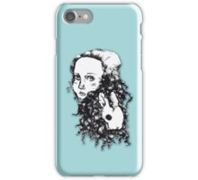Alice & the Rabbit iPhone Case/Skin