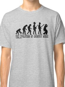 The Evolution of Country Music Classic T-Shirt