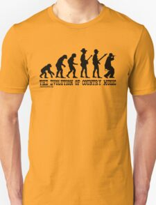 The Evolution of Country Music T-Shirt