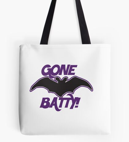 Gone Batty Tote Bag