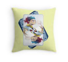 hunter x hunter-hisoka Throw Pillow