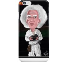 Doc Brown - Back To The Future - Caricature iPhone Case/Skin