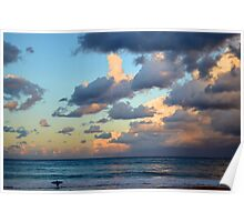 Avoca Sunset Poster