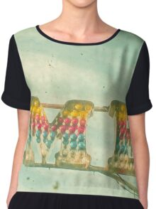 It's All About Me Chiffon Top