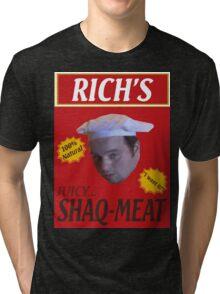 Juicy Shaq-Meat Tri-blend T-Shirt