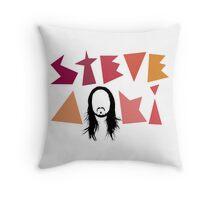 Steve Aoki logo Throw Pillow
