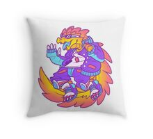 Sobek Throw Pillow