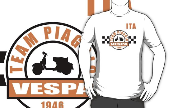 Vespa Team by madeofthoughts