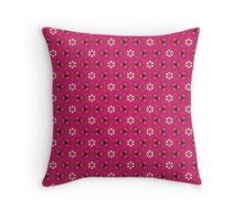 Pink Kimono Throw Pillow