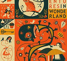 ALICE'S ADVENTURES IN WONDERLAND by JazzberryBlue