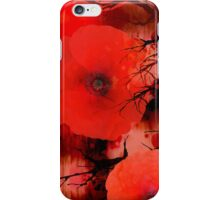 Red Poppies Magic iPhone Case/Skin
