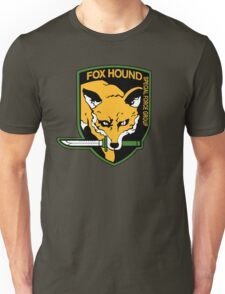FOXHOUND METAL GEAR (1) Unisex T-Shirt