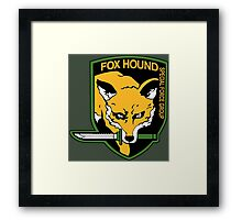 FOXHOUND METAL GEAR (1) Framed Print