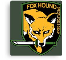 FOXHOUND METAL GEAR SOLID Canvas Print