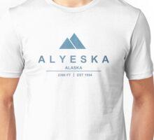 Alyeska Ski Resort Alaska Unisex T-Shirt