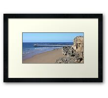 Goodmorning! - Point Lonsdale, Victoria Framed Print