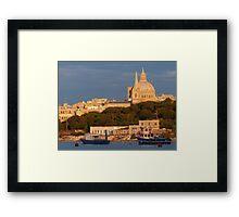 Manoel Island Framed Print