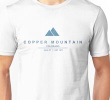Copper Mountain Ski Resort Colorado Unisex T-Shirt