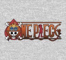 Ace logo One Piece Kids Tee