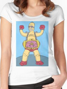 Homer  Women's Fitted Scoop T-Shirt