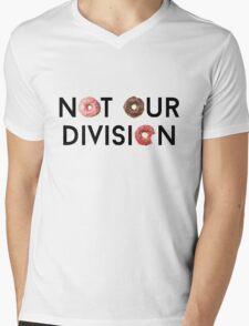 Not Our Division  Mens V-Neck T-Shirt