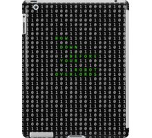 Bow down before your robot overlords iPad Case/Skin
