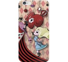 Alice and Red Queen by Lolita Tequila iPhone Case/Skin