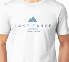 Lake Tahoe Ski Resort California Unisex T-Shirt