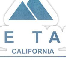 Lake Tahoe Ski Resort California Sticker