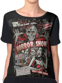 Spook Show Horror movie Monsters  Chiffon Top