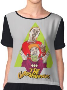 the underachievers Chiffon Top