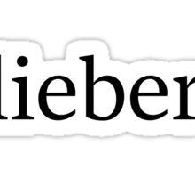 Belieber Sticker