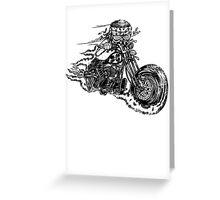 Bobber Rider Greeting Card