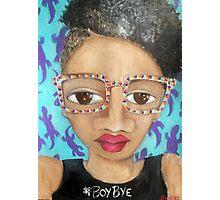 #BoyBye Photographic Print