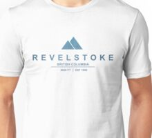 Revelstoke Ski Resort British Columbia Unisex T-Shirt
