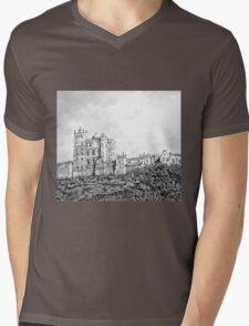Bolsover Castle Mens V-Neck T-Shirt