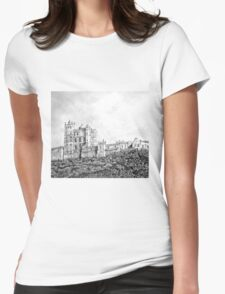 Bolsover Castle Womens Fitted T-Shirt