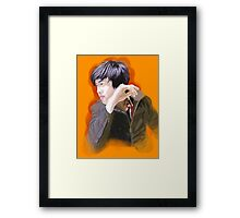 Staring Off Into the Distance Framed Print