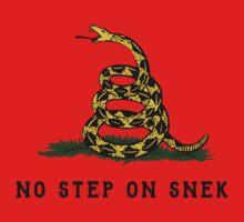 No Step On Snek Snake T-Shirt One Piece - Short Sleeve