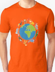 We Love Our Planet ! Unisex T-Shirt