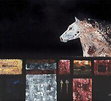 Crazy Horse by artbygeorgemb