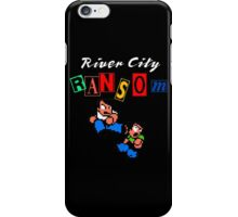 RIVER CITY RANSOM - NINTENDO iPhone Case/Skin